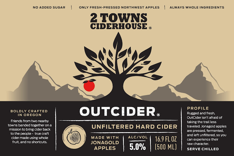 Logo of 2 Towns Ciderhouse Outcider