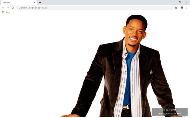 Will Smith New Tab & Wallpapers Collection