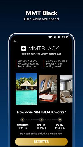 MakeMyTrip-Flight Hotel Bus Cab IRCTC Rail Booking screenshot 5