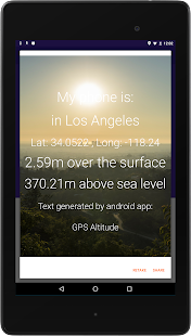 My Altitude And Evaluation GPS Android Apps On Google Play - What is my altitude above sea level