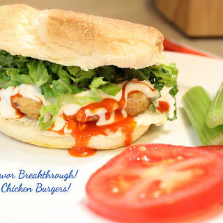 Buffalo Chicken Burgers!.