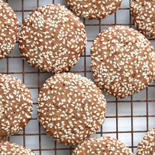 Sesame-Tahini Cookies (Grain-Free)