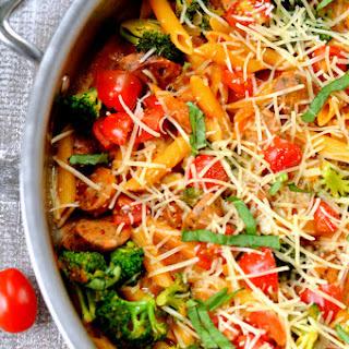 One Pot Bruschetta Pasta Recipe