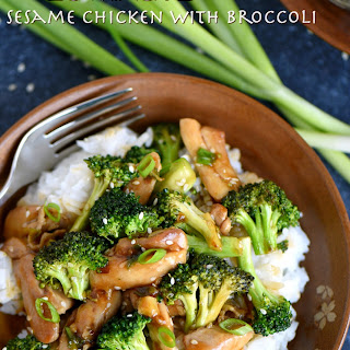 20 Minute Sesame Chicken and Broccoli.