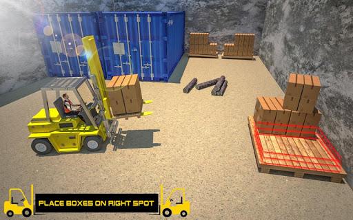 Forklift Games: Rear Wheels Forklift Driving 1.02 screenshots 2