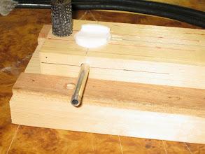 Photo: Fraisage des supports téflon