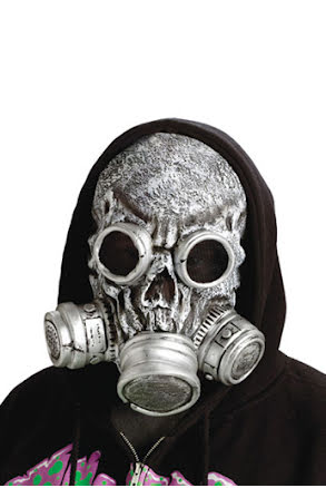 Zombie, gasmask