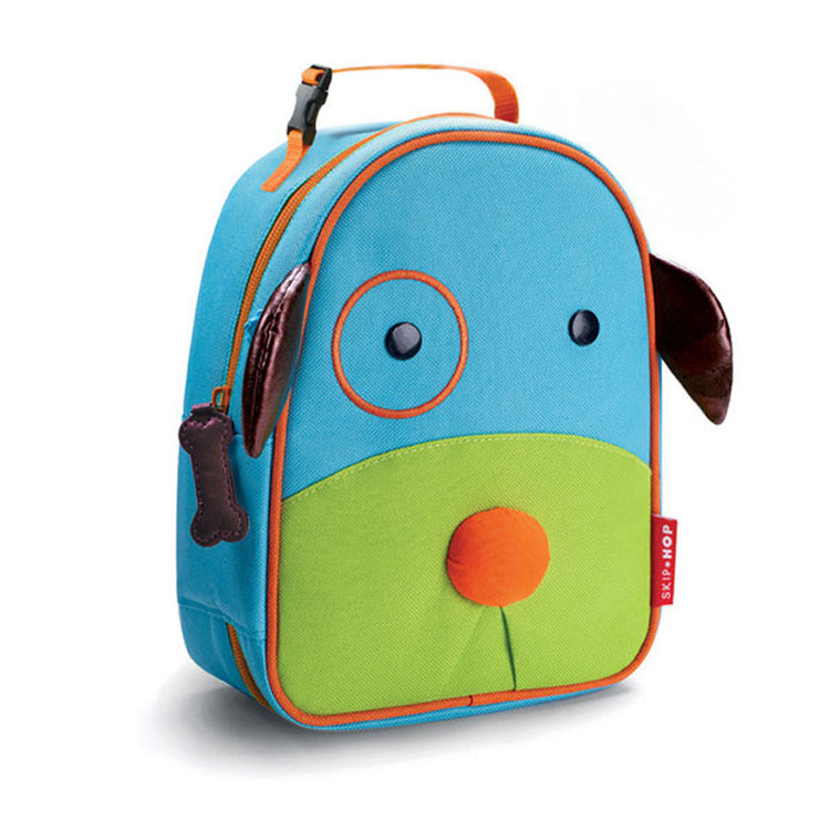 Skip Hop Zoo Lunchie Insulated Lunch Bags - Dog by GREEN WHEEL INTERNATIONAL SDN BHD