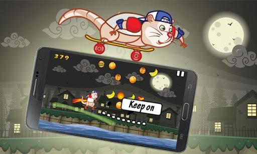 SkateBoard Rat
