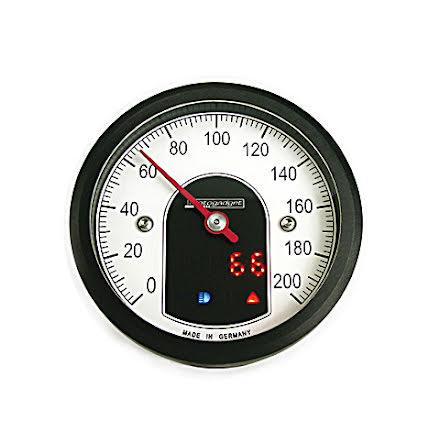 motogadget analogue speedometer motoscope tiny, black