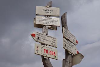 Photo: Sněžka (1602 m), nejvyšší bod České republiky