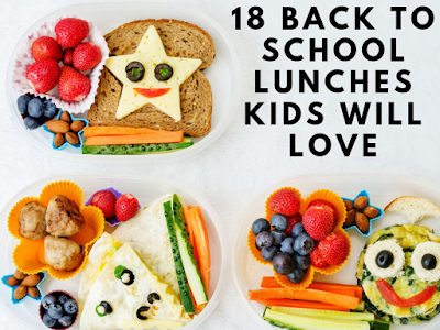 18 Back to School Lunches Kids Will Love