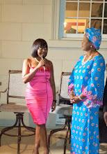 Photo: Ndileka speaks