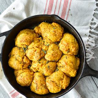Pumpkin Buttermilk Drop Biscuits with Brown Butter Recipe