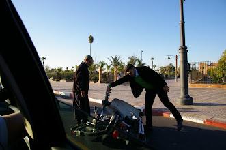 Photo: Accident de scooter Mobylette sans gravité