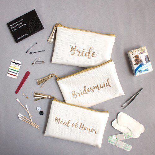 Bridal Party Survival Pouches