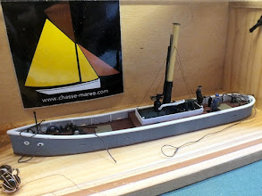 Photo: 125 Lucien described this scratchbuilt little steam boat in the NGRM-Online forum. He made it sound very simple, it certainly isn't, very skilled would be a more accurate description .