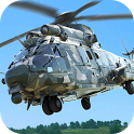 Army Helicopter Transporter Pilot Simulator 3D icon