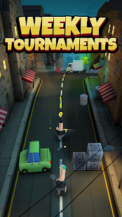 Overspin: Night Run – 3D double runner 5