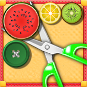 Scissors Buttons Logic Puzzle