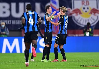 Club Brugge mee aan de leiding in haar groep na knappe overwinning op het veld van RB Leipzig