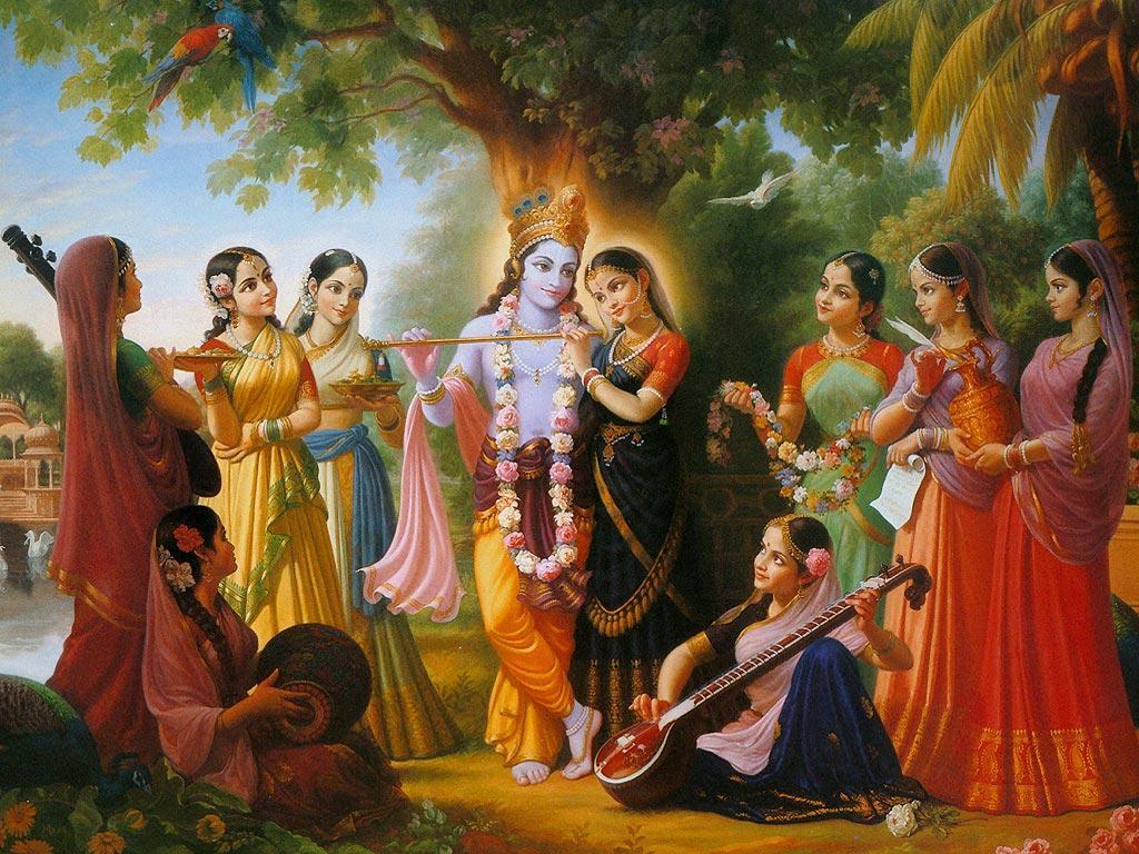 Hd wallpaper of lord krishna - Lord Krishna Live Wallpaper Hd Screenshot