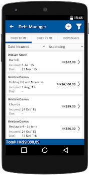 Debt Manager and Tracker Pro app (apk) free download for Android/PC/Windows screenshot