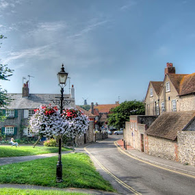 rottingdean by Mark West - City,  Street & Park  Historic Districts