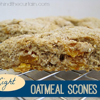 Light Oatmeal Scones