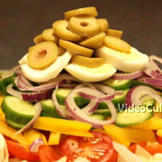 Vegetable Salad With Thousand Island Dressing Recipes.