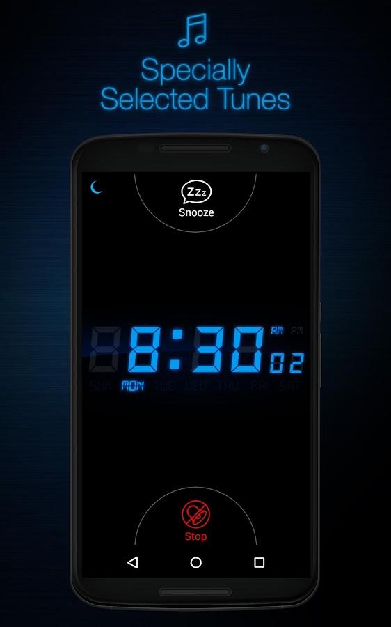 My Alarm Clock Free - screenshot