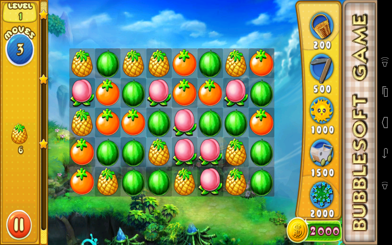 Fruit link deluxe - Fruit Crush 2 Screenshot