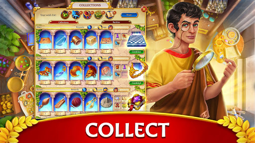 Jewels of Rome: Match gems to restore the city modavailable screenshots 21