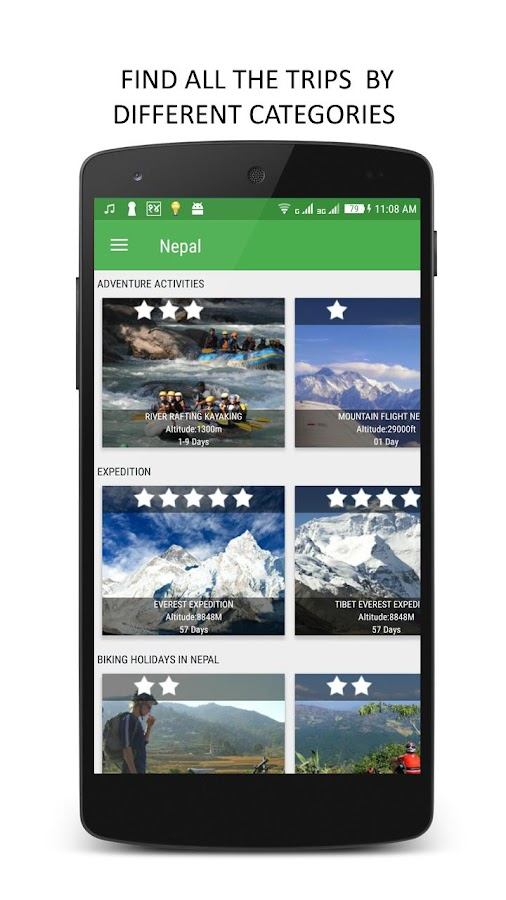 Nepal Travel Guide- screenshot