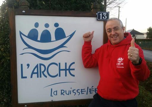 Yann Convert à L'Arche La Ruisselée