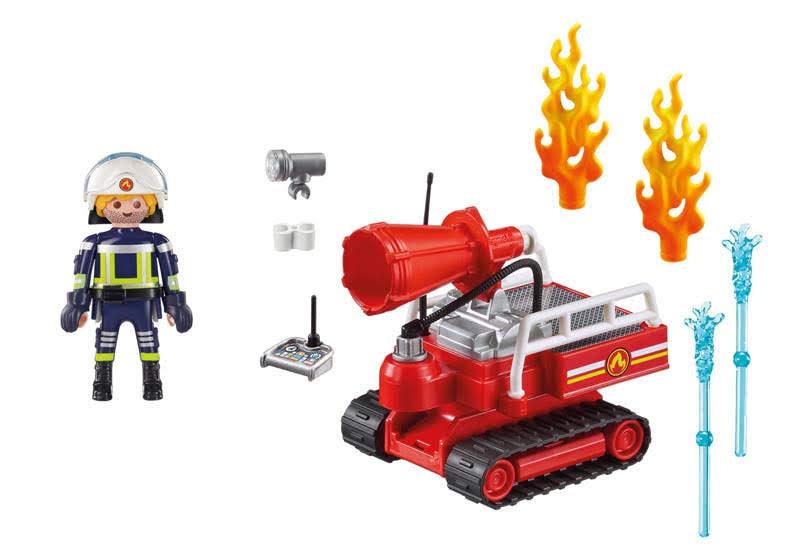Contenido Real de Playmobil® 9467 Robot de Extinción