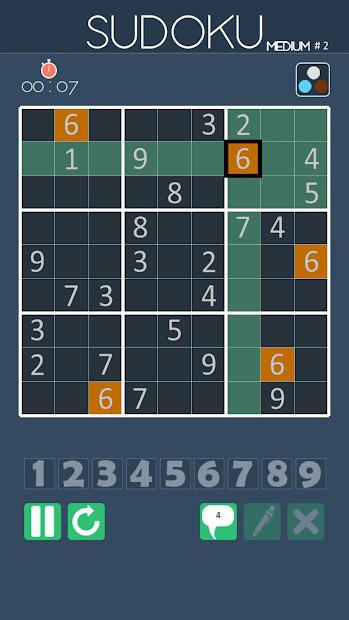 Sudoku offline game free download
