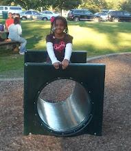 Photo: Kaleya at the park