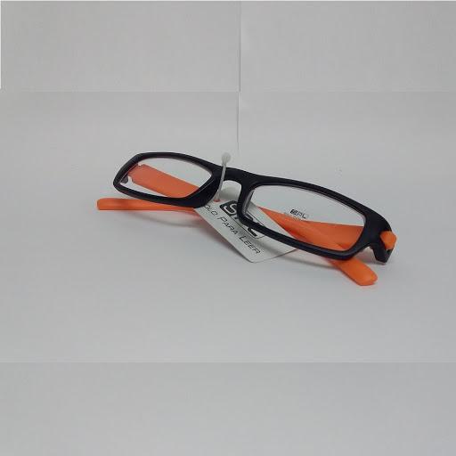 lentes de lectura spl negro/naranja +2.50