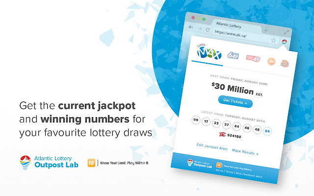 Atlantic Lottery Browser Extension