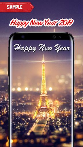 New Year 2019 Wallpaper (Eiffel) 2.0 screenshots 2