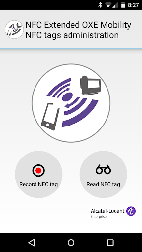 NFC Extended OXE Mobility Adm