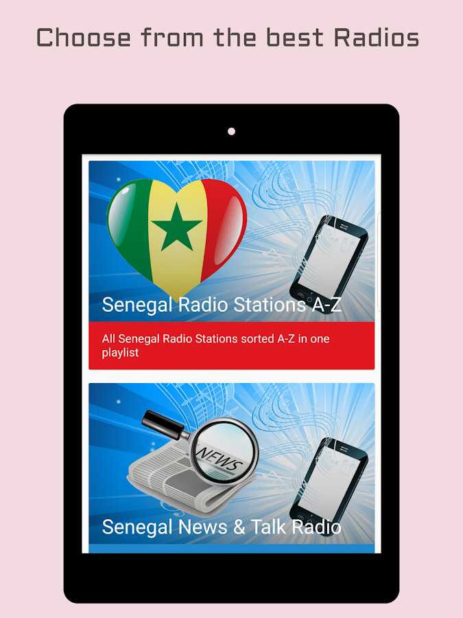 Senegal Radio Stations- screenshot
