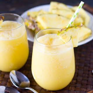 Pineapple Cream Tropical Smoothie.