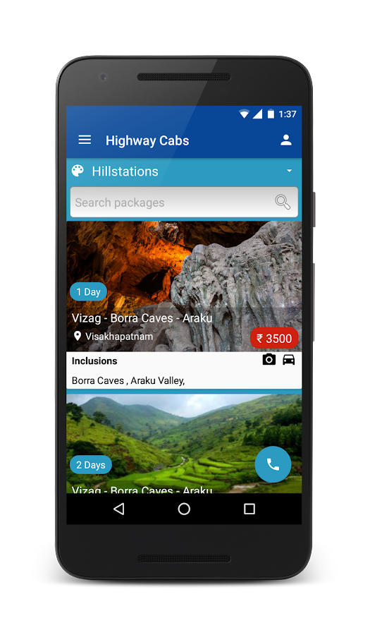 Highway Cabs-Book Cab in India- screenshot