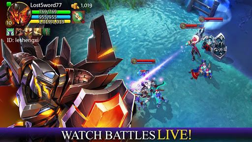 Heroes of Order & Chaos  screenshots 16