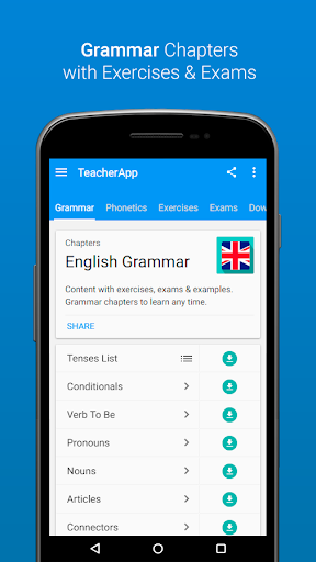 English Grammar & Phonetics v7.1.2 (Ad-free)