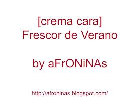 Photo: Receta crema cara fresquita cara: http://goo.gl/cTxN2