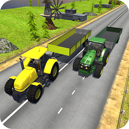 4x4 Tractor Hill Climb Racing