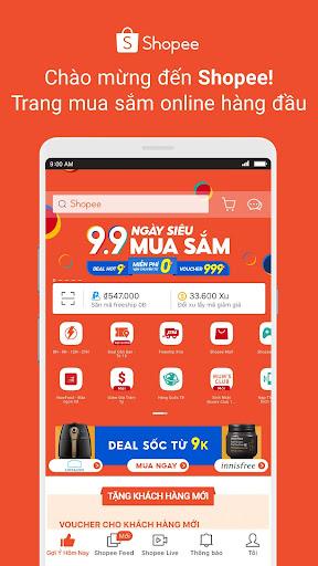 Shopee 9.9 Ngu00e0y Siu00eau Mua Su1eafm modavailable screenshots 1